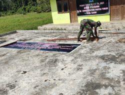TMMD: TNI Beri Motivasi ke Masyarakat