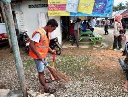 Tim Gakkum Protkes Jaring 140 Pengunjung dan Pedagang di Pasar Taluak Batang Kapas