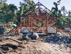Gereja Baru di Kampung Dorba Tingkatkan Kerohanian