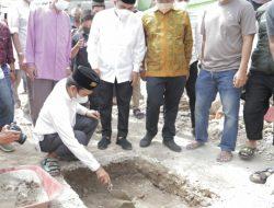 Wawako Solok Bersama UAS Letakkan Batu Pertama Pembangunan Masjid Nurul Hidayah