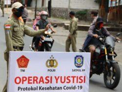 180 Pelanggar Prokes Terjaring Operasi Yustisi di Pasar Pusat Padang Panjang