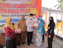 Wawako Solok Launching Program BST dan Beras PPKM