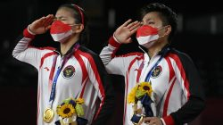 Greysia / Apriyani Raih Emas Untuk Indonesia di Olimpiade Tokyo