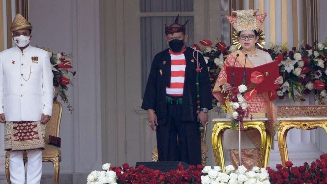Ketua DPR RI Pakai Baju Adat Bundo Kanduang, Dianggap Hal Positif