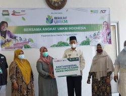 ACT Pasbar Rilis Program Wakaf Modal UMKM