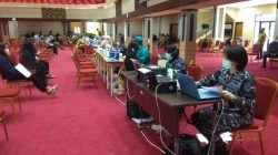 Go To Campus TNI AL Lantamal II Serbuan Vaksinasi Sasar UNP