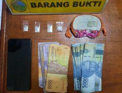Polres Pasbar Amankan Pelaku Penyalahgunaan Sabu