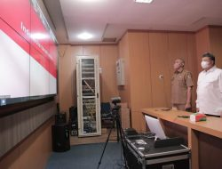 Wako Solok Virtual Percepatan Vaksinasi Covid-19