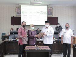 Pemko Bersama DPRD Kota Solok Tandatangani Nota Kesepakatan KUA dan PPAS Perubahan