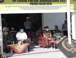 Wako Solok Hadiri Apel Gelar Pasukan Operasi Patuh Singgalang 2021