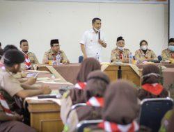 Wawako Apresiasi  Acara Sosialisasi dan Koordinasi Pramuka Penegak dan Pandega Kota Solok