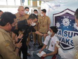 Wawako Solok Ikuti Launching Gebyar Vaksin Remaja Sumbar