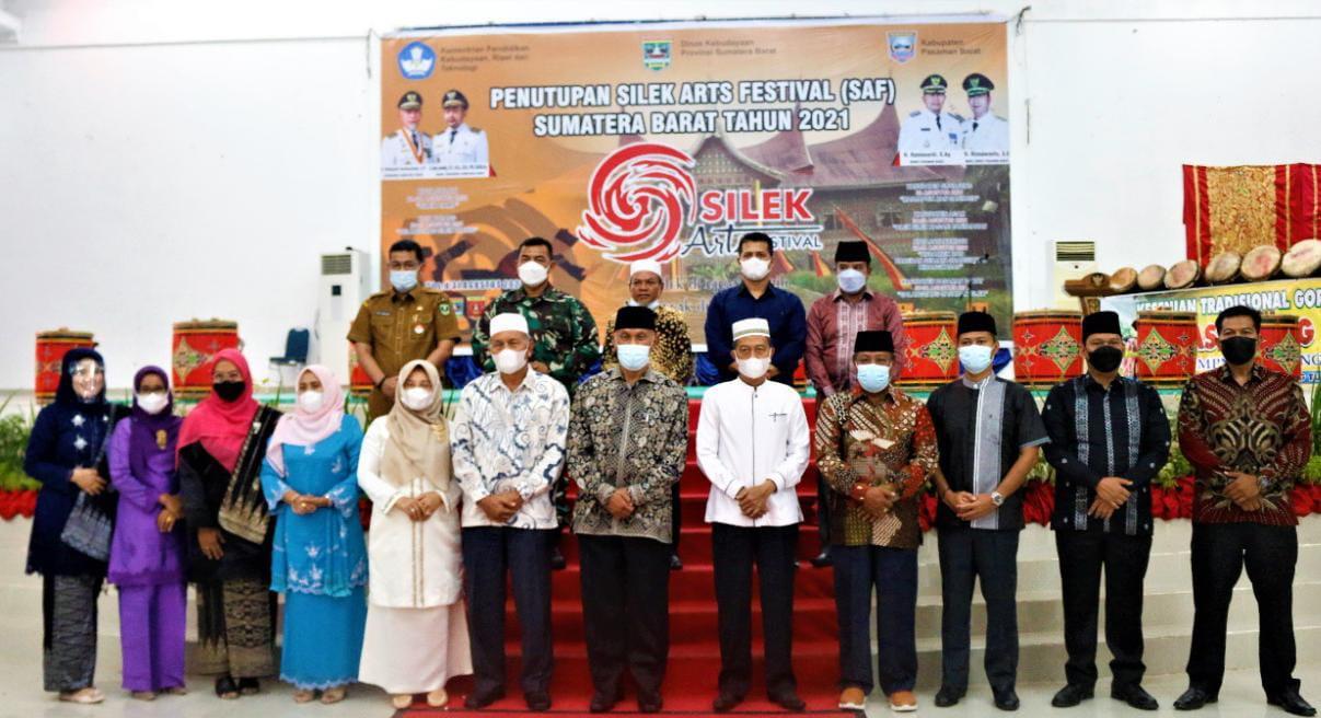 Gubernur Sumbar Resmi Tutup Silek Arts Festival 2021