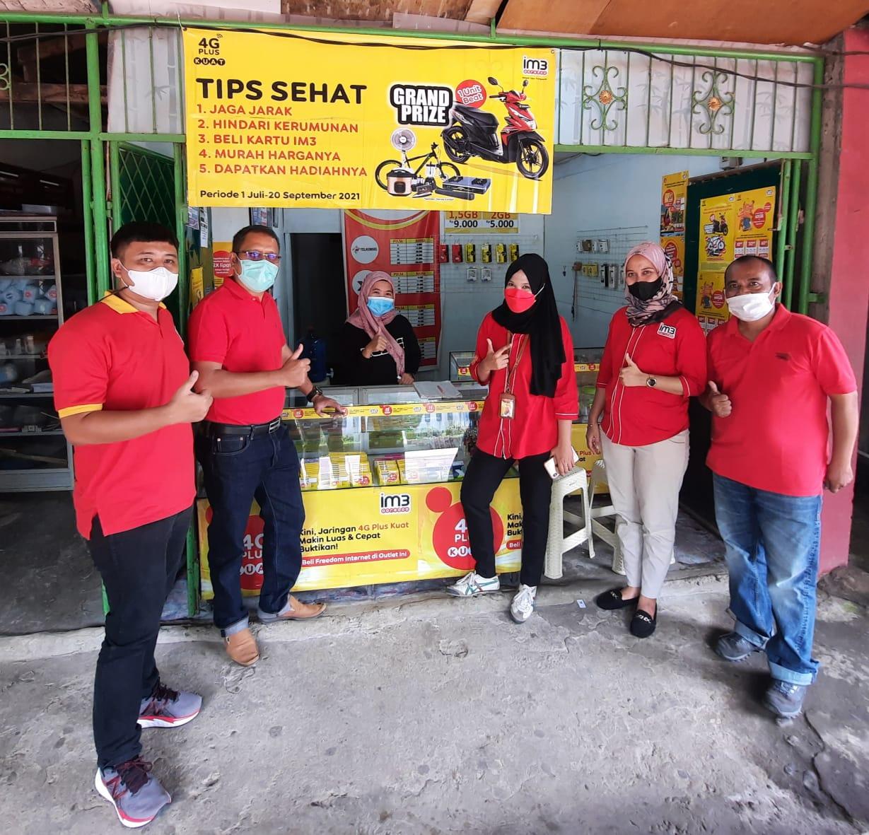 Indosat Ooredoo Hadirkan Layanan 4G Plus di Padang