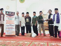 Korban Kebakaran di Kabupaten Solok Terima Bantuan Dari ACT Solok