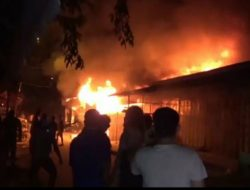 Diduga Kaget, Lansia Tewas Lihat Kebakaran Rumah Tetangganya